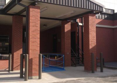 Hospital Loading Dock